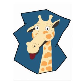 I am Giraffe Postcard