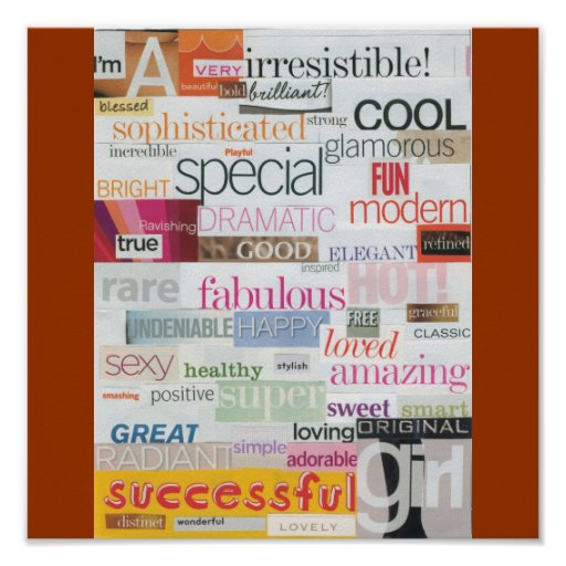 i am girl by gloria marie poster