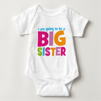 I am going to be a Big Sister Shirts