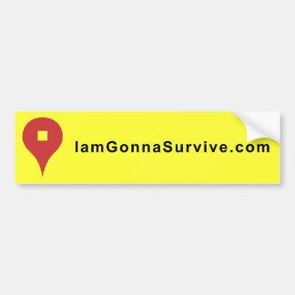 I am Gonna Survive Stickers Bumper Sticker