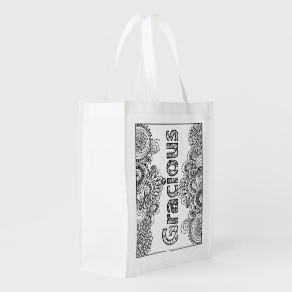 I AM Gracious - Color Your Own Bag