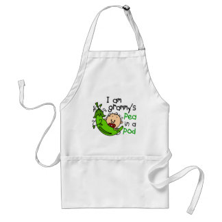 I am Grammy s Pea In A Pod Aprons