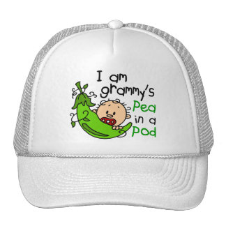 I am Grammy s Pea In A Pod Hats