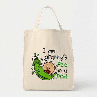 I am Grammy s Pea In A Pod Tote Bag