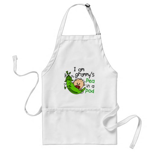 I am Grammy's Pea In A Pod Aprons