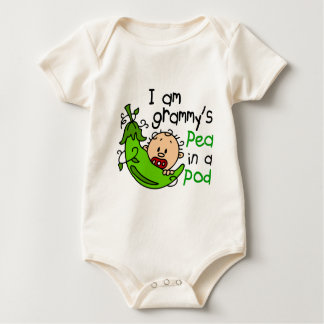I am Grammy's Pea In A Pod Baby Bodysuit