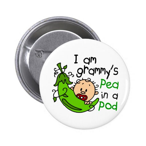 I am Grammy's Pea In A Pod Buttons