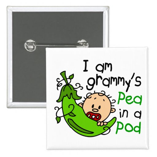 I am Grammy's Pea In A Pod Pin