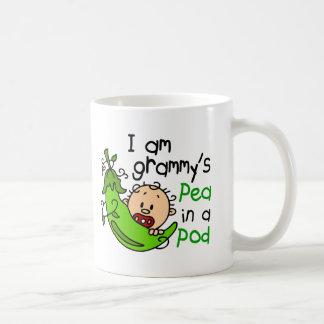 I am Grammy's Pea In A Pod Basic White Mug