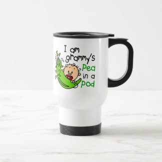 I am Grammy's Pea In A Pod Stainless Steel Travel Mug