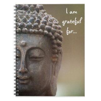 I am grateful for... Gratitude Journal w/ Buddha