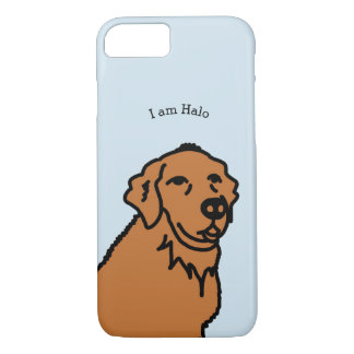 I am Halo illustration iPhone case