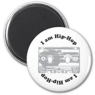 I Am Hip-Hop 6 Cm Round Magnet