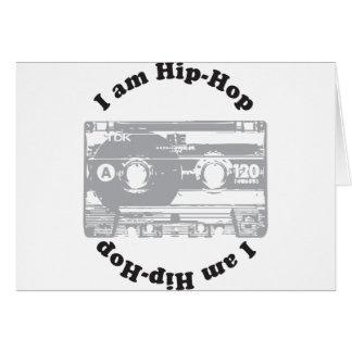 I Am Hip-Hop Greeting Card