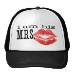I am His Mrs. Mesh Hats