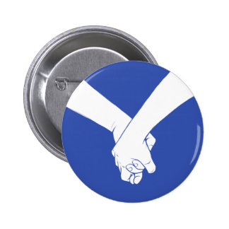 I Am Holding Your Hand by Jason Flack 6 Cm Round Badge