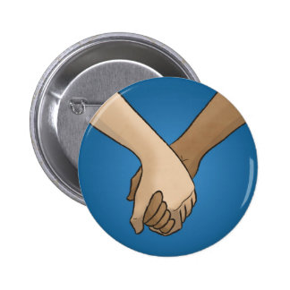 I Am Holding Your Hand by @PixelatedPixie 6 Cm Round Badge