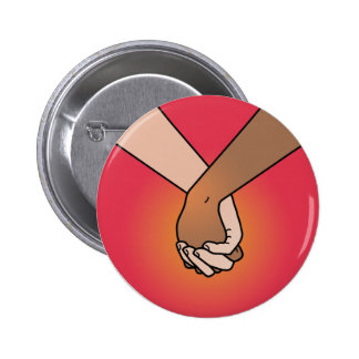 I Am Holding Your Hand (v.1) by Kate Leth 6 Cm Round Badge