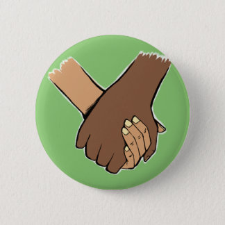 I Am Holding Your Hand (v.1) by Kim Wakeford 6 Cm Round Badge