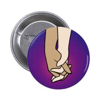 I Am Holding Your Hand (v.1) by @PrincessKatye 6 Cm Round Badge