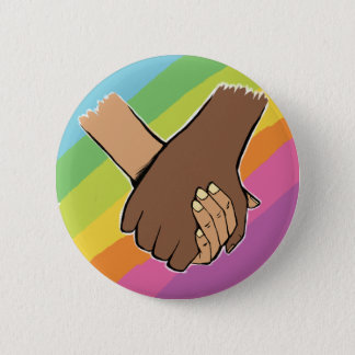 I Am Holding Your Hand (v.2) by Kim Wakeford 6 Cm Round Badge