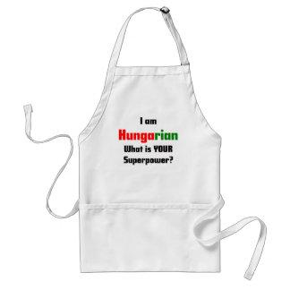 I am Hungarian Standard Apron
