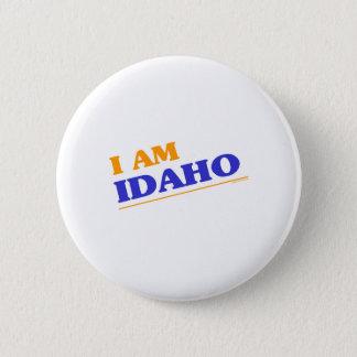 I am Idaho shirts 6 Cm Round Badge