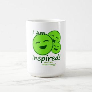 """I Am Inspired!"" Games Mug"