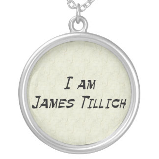 I Am James Tillich Round Pendant Necklace