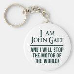I Am John Galt Key Chain