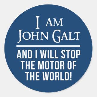 I Am John Galt Stickers