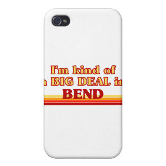 I am kind of a BIG DEAL in Bend iPhone 4 Covers