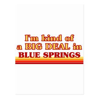 I am kind of a BIG DEAL in Blue Springs Postcard
