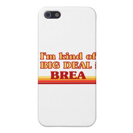 I am kind of a BIG DEAL in Brea Cover For iPhone 5