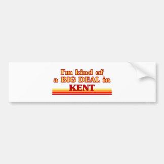 I am kind of a BIG DEAL in Kent Bumper Stickers