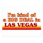 I am kind of a BIG DEAL in Las Vegas Postcards