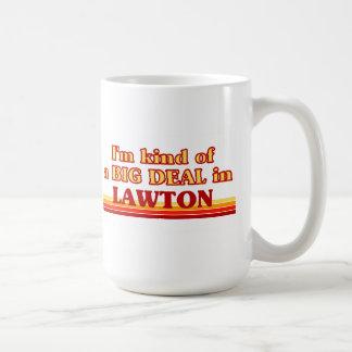 I am kind of a BIG DEAL in Lawton Basic White Mug
