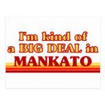 I am kind of a BIG DEAL in Mankato Postcard