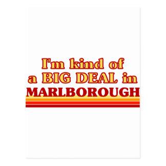 I am kind of a BIG DEAL in Marlborough Postcard