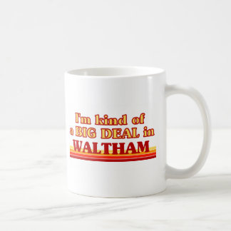I am kind of a BIG DEAL in Waltham Mug