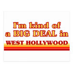 I am kind of a BIG DEAL in West Hollywood Postcards
