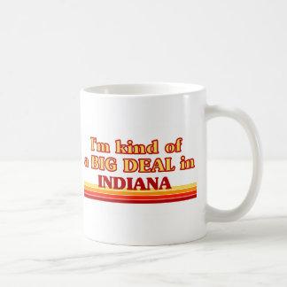 I am kind of a BIG DEAL on Indiana Coffee Mug