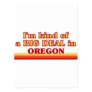 I am kind of a BIG DEAL on Oregon Postcard