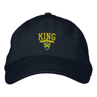 I Am King Embroidered Hat