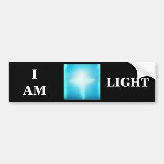 I AM LIGHT BUMPER STICKER