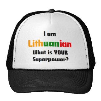 i am lithuanian cap