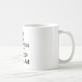 I am Macedonian I can't keep calm Coffee Mug