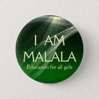 I am Malala Education for All Girls 6 Cm Round Badge