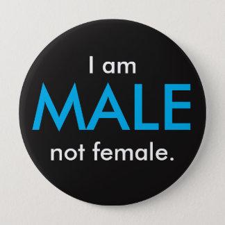 I am MALE Button