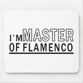 I Am Master Of Flamenco Dance Mousepads